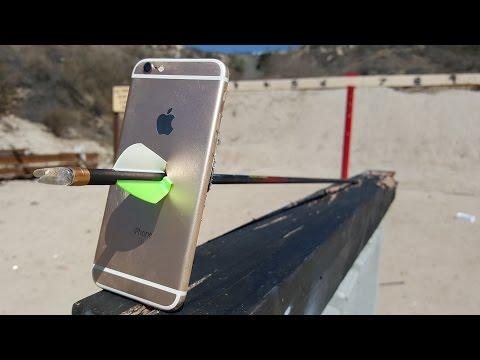 iPhone 6S Arrow Scratch Test
