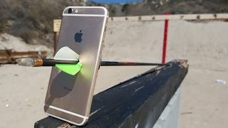 iPhone 6S Arrow Scratch Test
