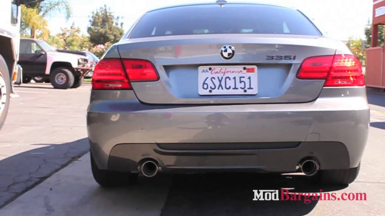 BMW Performance Exhaust On E I Installed At ModBargainscom - 2007 bmw 335i performance upgrades