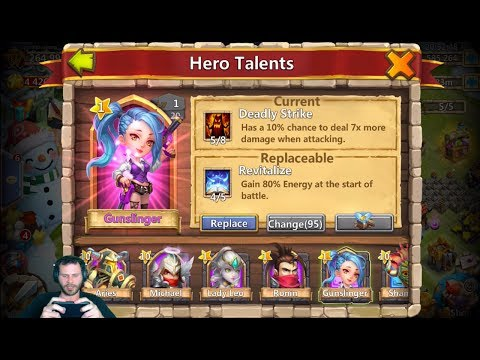Crazy Story How JT Got GunSlinger IM PUMPED Castle Clash