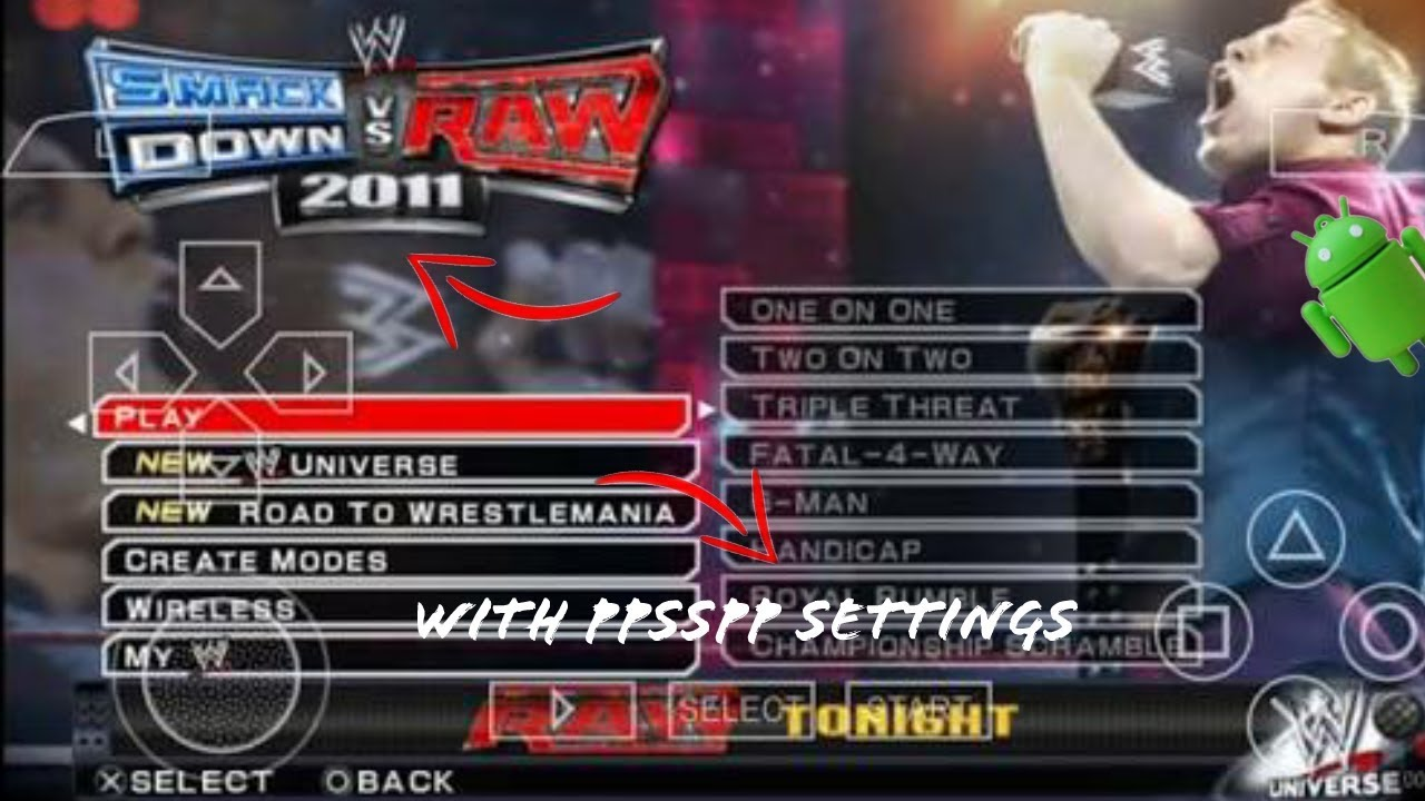 Wwe 2k11 game download for ppsspp windows 10