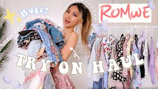 HUGE ROMWE SUMMER TRY ON HAUL  | discount code + how to style! screenshot 3