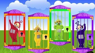 Wrong Door Keys Teletubbies Learn Colors Finger Family Song Rhymes for Kids