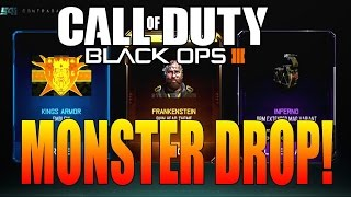 black ops 3 monster supply drop opening   bo3 kn 44 r a p s multiplayer gameplay