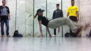 Bgirl Anna Active in Andalucia 2015