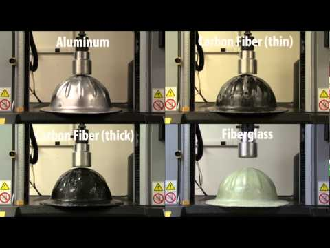 Polymer and Fiber Engineering Composite Hard Hat Test