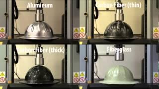 Polymer and Fiber Engineering Composite Hard Hat Test