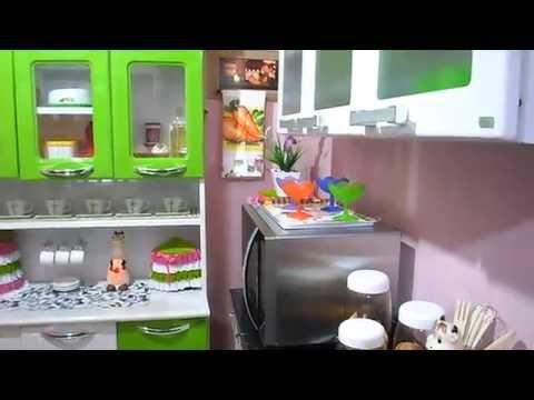 Tour pela cozinha pequena