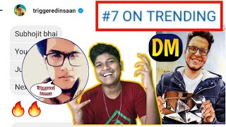 Thank You @Triggered Insaan 🙏 For 3 Comment / Featured me on 10M video 💎 Drawing On Trending Page 😍