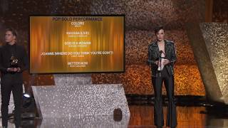Lady Gaga Wins Best Pop Solo Performance | 2019 GRAMMYs Acceptance Speech