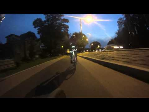 Go Pro Sony Action Cam HD Philly Night Session Cycling