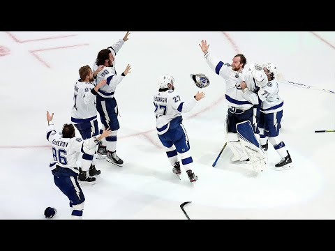 The Tampa Bay Lightning are the 2019-2020 Stanley Cup Champions