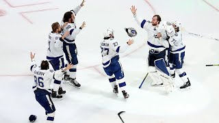 The tampa bay lightning are 2019-2020 stanley cup champions