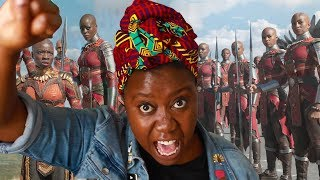TAKE ME TO WAKANDA! | Black Panther Movie Review 🙅🏿🙅🏾🙅🏿
