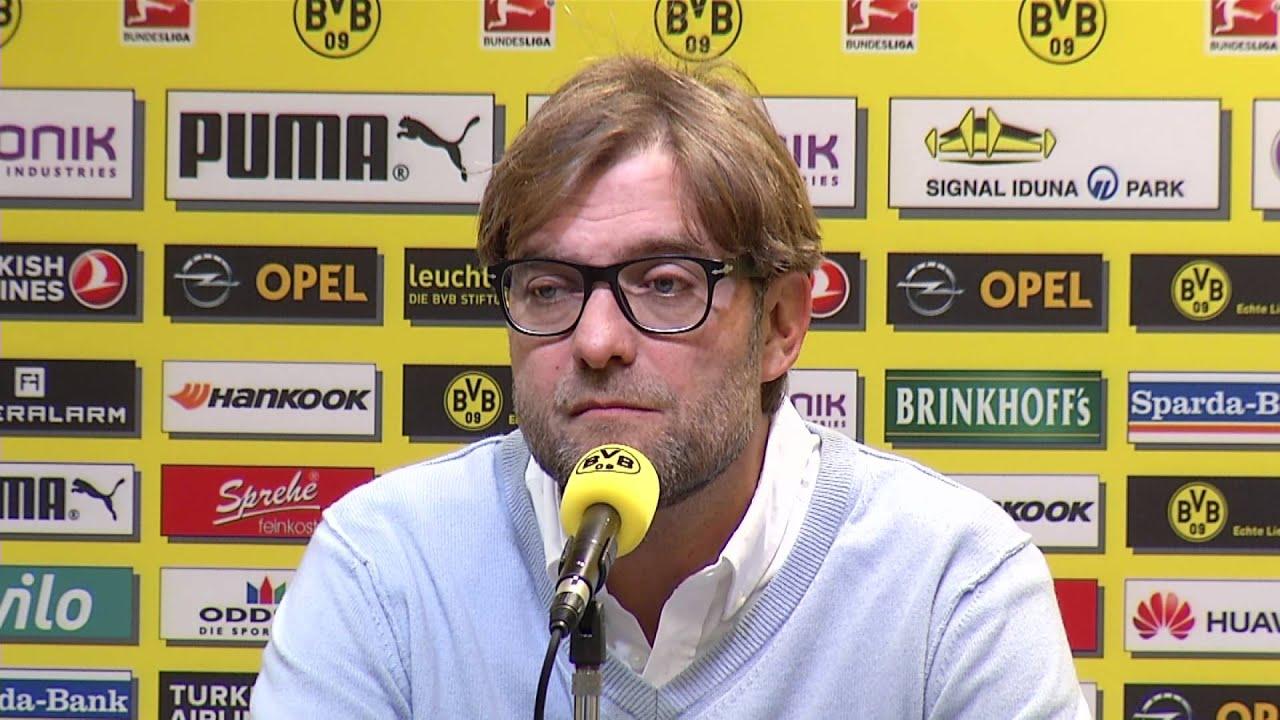 1. FSV Mainz 05 - Borussia Dortmund: Pressekonferenz vor dem Spiel