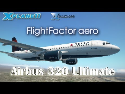 Flight Factor Airbus 320 Ultimate for X-plane 11