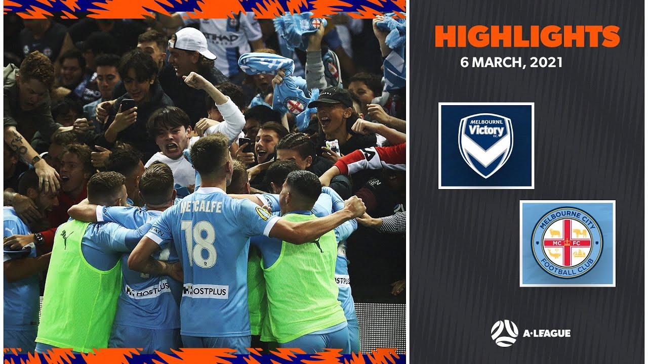 Download HIGHLIGHTS: Melbourne Victory v Melbourne City FC   March 6   A-League 2020/21 Season
