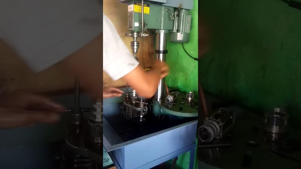 Jual mesin honing blok silinder cylinder honing machine harga.