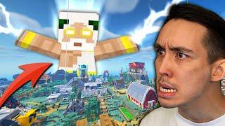 Minusta tuli JUMALA Minecraftissa!