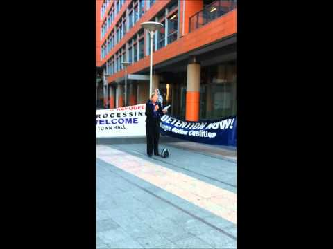 3 Action against sending refugees to Nauru Friday the 14th of Sept Lee St