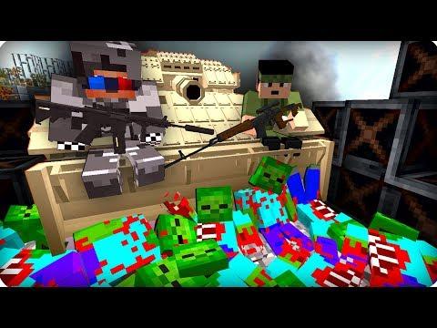 Это был настоящий АД [ЧАСТЬ 15] Зомби апокалипсис в майнкрафт! - (Minecraft - Сериал)