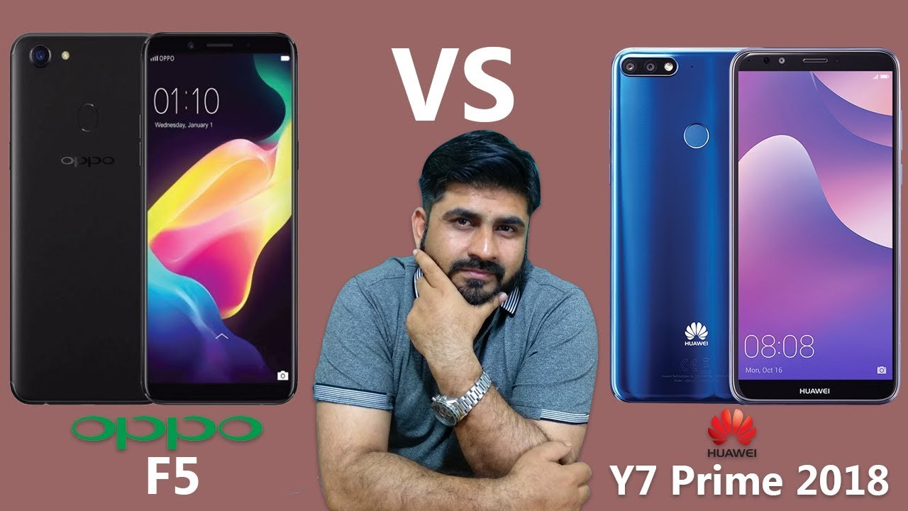 Y7 Prime 2018 vs Oppo F5 Complete review honest opinion Urdu| Hindi
