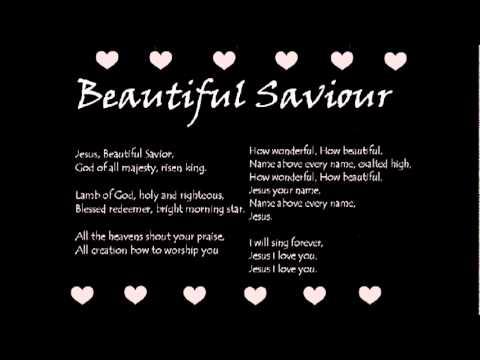 Lyrics of beautiful saviour by planetshakers