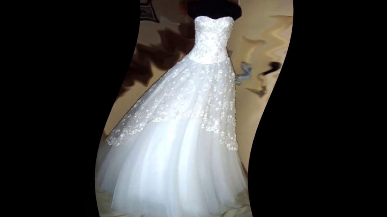 Погладить свадебное платье фатина