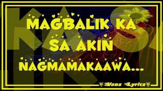 Bugoy Drilon - Nagmamakaawa - Lyrics