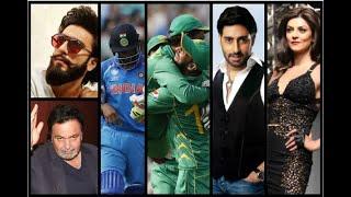 In Graphics: India vs Pakistan final: Ranveer Singh, Sidharth Malhotra, Sushmita Sen and o