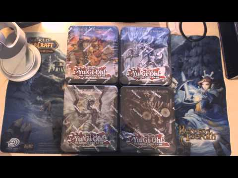 4 Yu-Gi-Oh! TCG 2013 Dragon Ruler Collector's Tins | General Life Updates