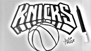 [ NBA ] COMO DESENHAR A LOGO DO NEW YORK KNICKS