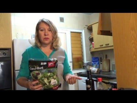 Рецепт Наши за рубежом ensalada simple . простой салат