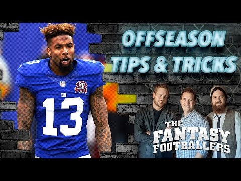 Top 10 Offseason Tips & Tricks Ep. #191 - The Fantasy Footballers