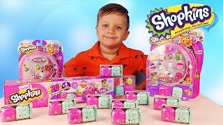 New Shopkins Collection Unboxing Toys for Kids Season 5 Surprise Video for Kids Toy Review