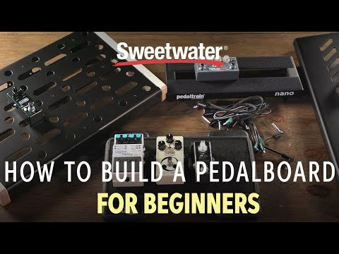 How To Build a Pedalboard | Guitar Lesson