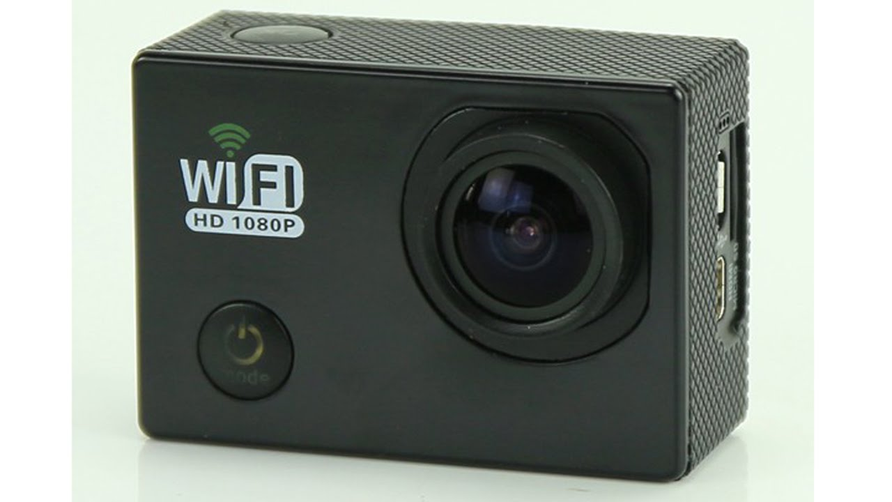 Action camera hd 1080p wifi