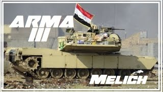 Arma 3 : Iraqi Army Tank advance near Qayara !
