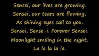 soka gakkai songs~forever sensei