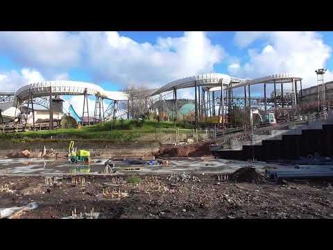 ICON Construction Update Blackpool Pleasure Beach 4th November 2017