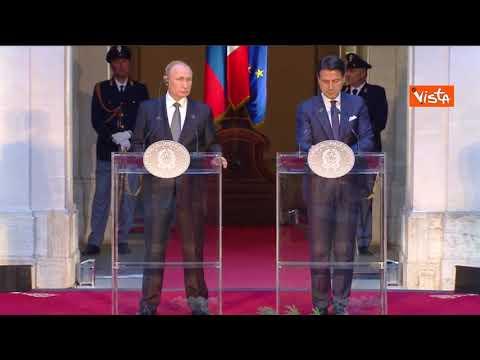 Roma, Putin riprende il giornalista: 'Lei non ha fatto una domanda ma ha pronunciato un discorso'