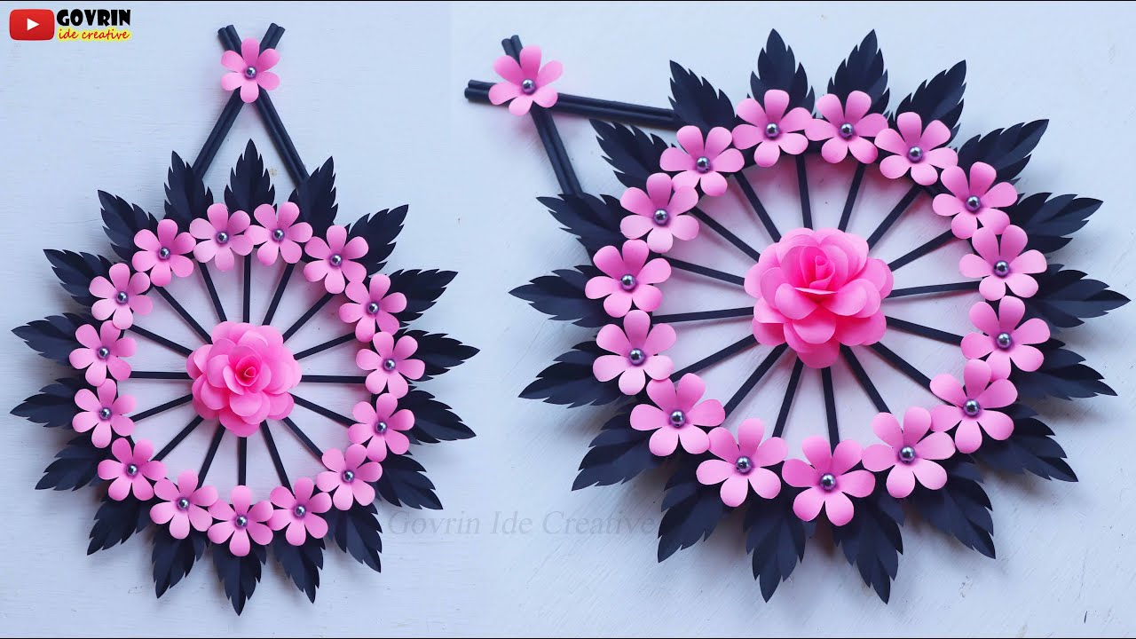 Easy and Quick Paper Wall Hanging Ideas / A4 sheet Wall decor / Cardboard Reuse /Room Decor DIY