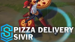 Pizza Delivery Sivir Skin Spotlight - League of Legends thumbnail