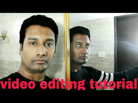 video editing tutorial || scary mirror effect video editing ||  kine master horror video editing