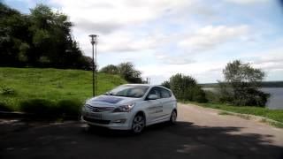 Тест драйв Hyundai Solaris 2014 смотреть