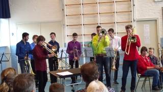 Young Trombone Collective plays