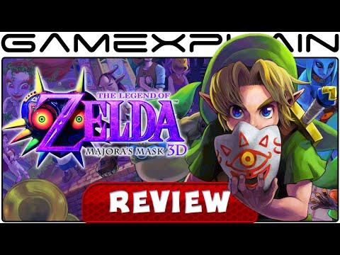 The Legend of Zelda: Majora's Mask 3D - Video Review (3DS)