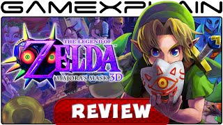 The Legend of Zelda: Majora's Mask 3D - Video Review (3DS) (Video Game Video Review)
