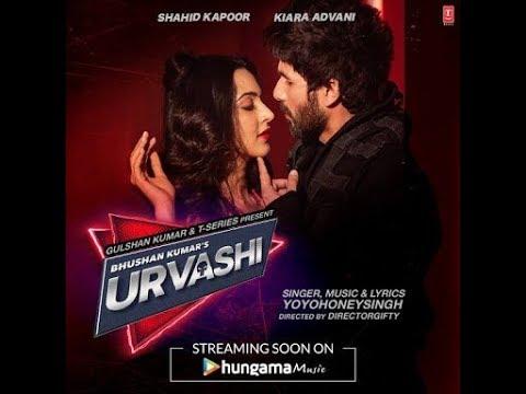 Urvashi song | Shahid kapoor | Kiara Advani | Yo Yo Honey Singh | PagalWorld