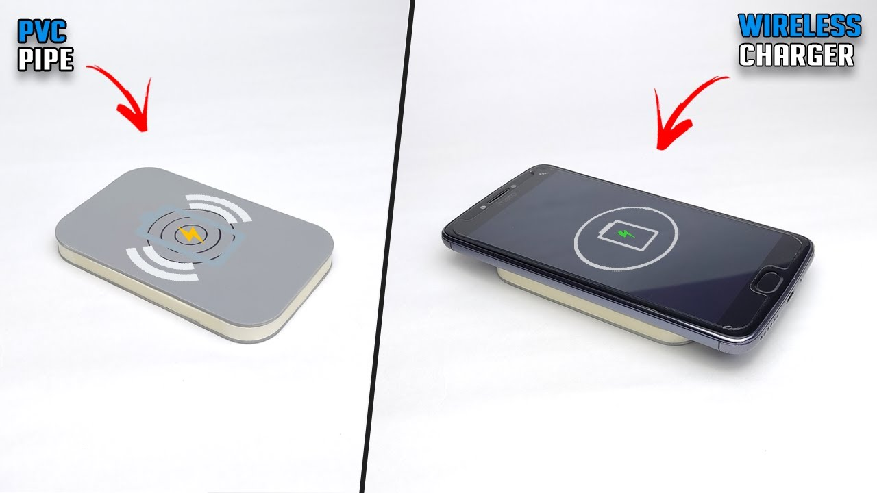 How To Make Wireless Smartphone Charger At Home   Wireless Mobile Charger